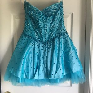 May Queen Couture Sequin Dress